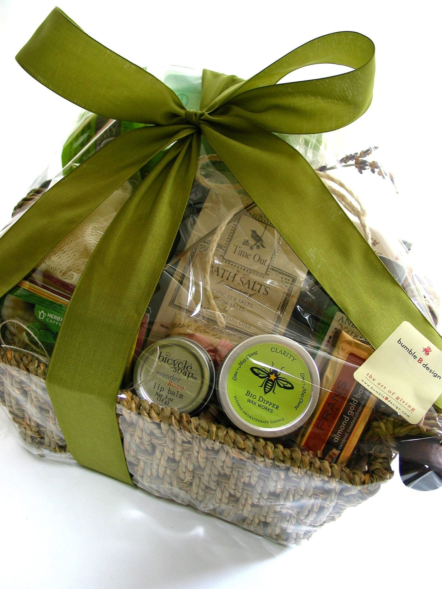 Time Out Gift Basket - bumble B design, Seattle, WA